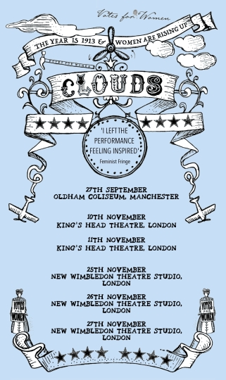 Clouds AW 2019 Tour Poster