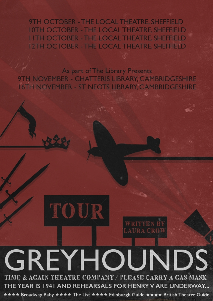 Greyhounds AW 2019 Touring Poster