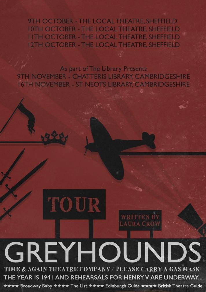 Greyhounds AW 2019 Touring Poster